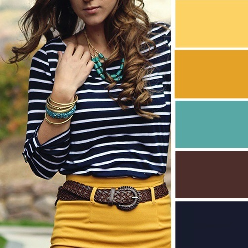15 ideálnych farebných kombinácií , aby ste vyzerali skvelo