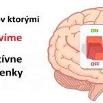 5 spôsobov ako zastaviť negatívne myšlienky