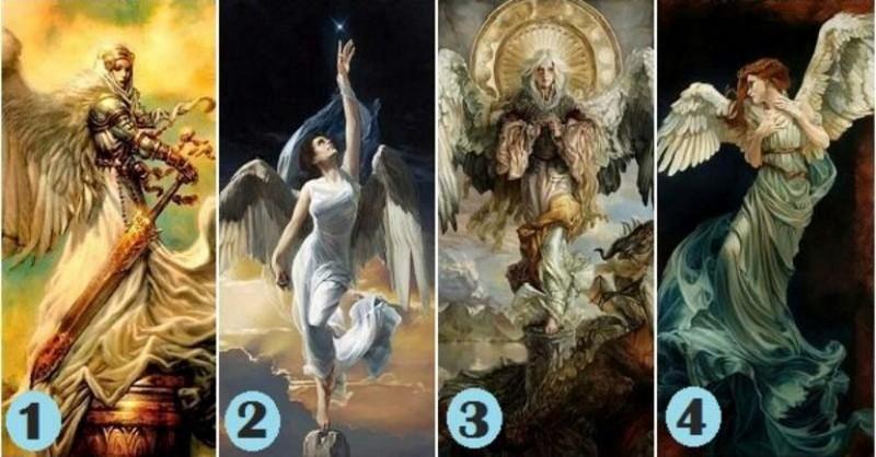 Vyberte si jedného anjela a získajte osobné posolstvo s usmernením a upokojením