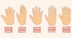 Čo vypovedá tvar vašej ruky o vašej osobnosti a charaktere
