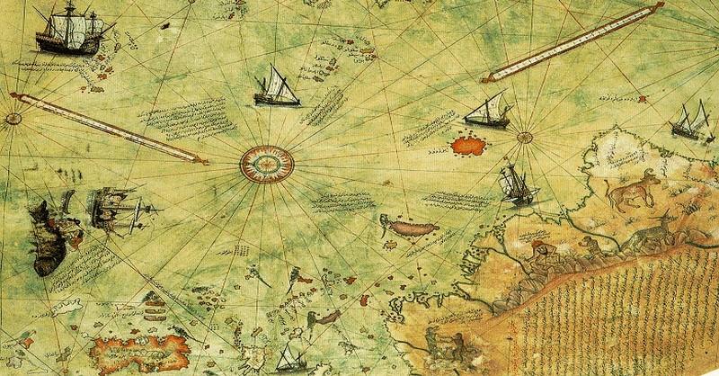"""Objav 500 rokov starej mapy v základoch otriasol """"oficiálnou"""" históriou Zeme"""