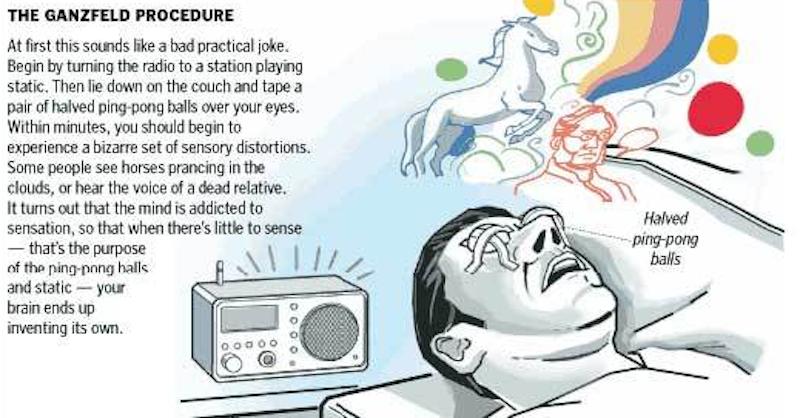 Sila vášho mozgu: Ako halucinovať aj bez užitia psychedelík